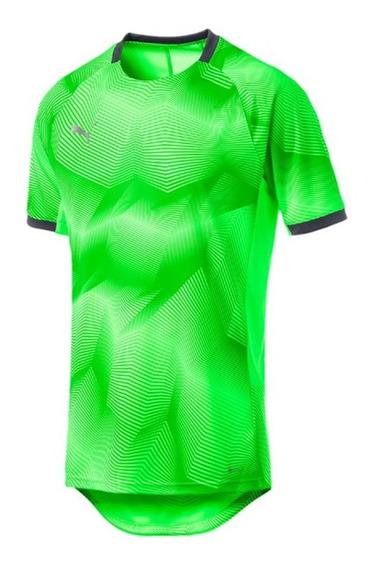 Camiseta De Fútbol Puma Ftblnxt Graphic Shirt Hombre Verde