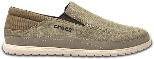 Zapato Crocs Caballero Santa Cruz Playa Slip-on Khaki
