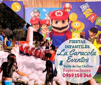 Fiestas Infantiles, Cañon De Espuma, Inflables, Eventos