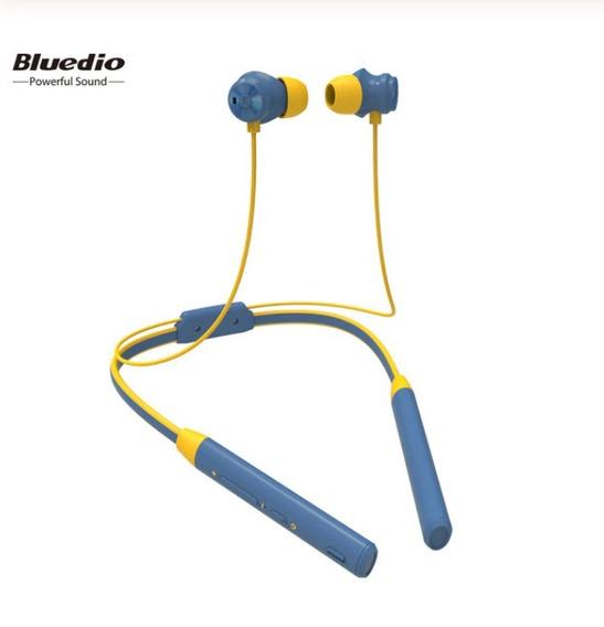 Fone De Ouvido Bluedio Tn2 Sem Fio Caminhada Azul Agua 2140