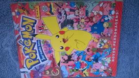 Pokemon Livro Ilustrado 3 Jornada Johto - Incompleto Panini
