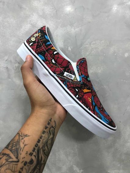 Vans Slip On Spider-man - Homem Aranha