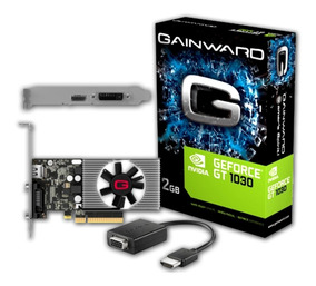 Placa De Video Geforce Gt 1030 2gb Gddr5 Conversor Vga Nfe