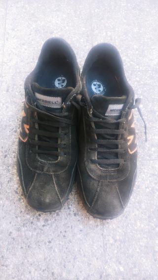 Zapatillas De Cuero Merrell T 42 Hombre