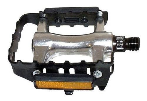 Imagen 1 de 5 de Pedales Mtb Xerama 311 Aluminio A Bolillas Con Reflectores Z