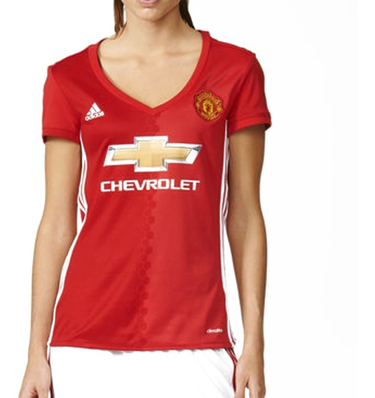 Playera Jersey Manchester United 16/17 Mujer adidas Ai6709