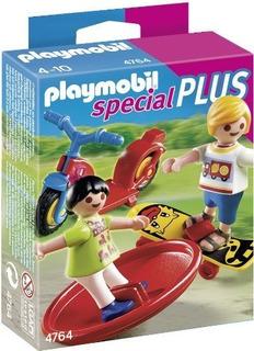Playmobil & Reg; 2 Niños Con Juguetes