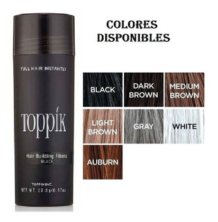 Fibras Capilares Queratina 27.5gr. Toppi - g a $821