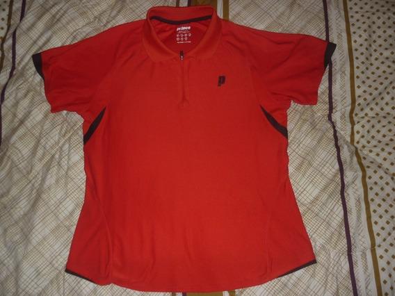 E Chomba Dama Tenis Prince Talle M Rojo Art 86780
