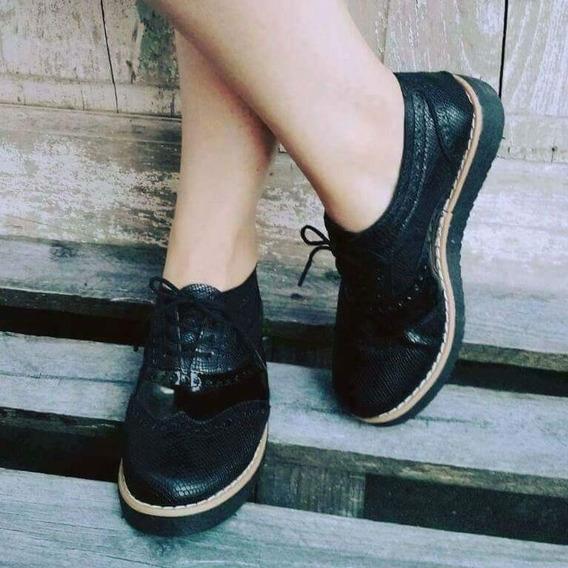 Zapato Negro Bajo