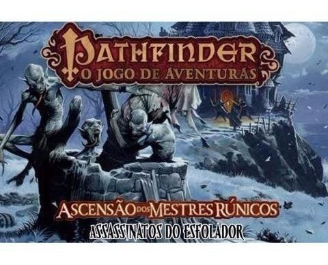 Pathfinder Card Game - Assassinatos Do Esfolador - Em Port.