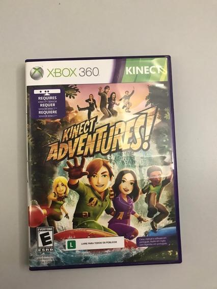 Jogo Xbox 360 Kinect Adventures Original Usado Game