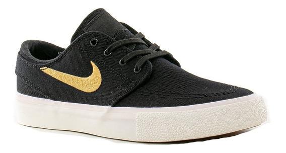 Zapatilla Nike Sb Janoski Cnvs Black