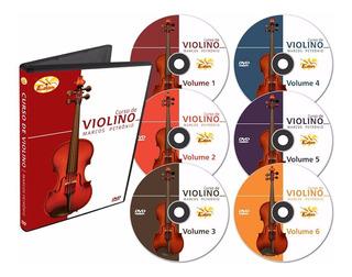 Curso Completo De Violino Em Dvd - 6 Dvds - Edon