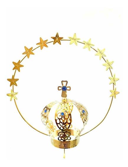 Coroa N 8 Para Imagem De Nossa Senhora Com Resplendor