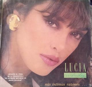 Cdo Lucia Mendez Lp- Mis Intimas Razones