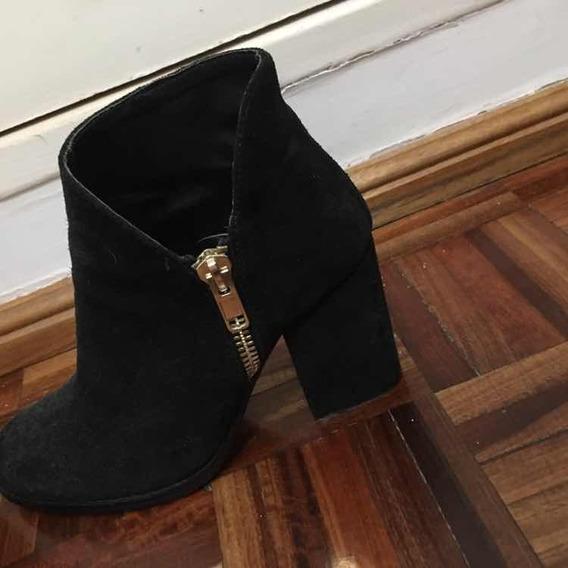 Bota Negra De Zara