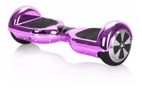 Patineta Scooter Electrico Smart Balance Rosa Metal