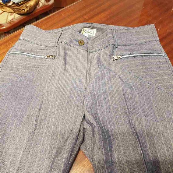 Pantalon Calyx Rallado T M