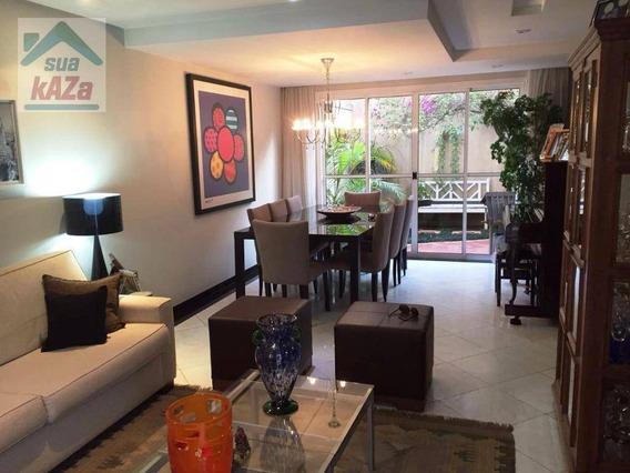 Sobrado Com 4 Dormitórios À Venda, 166 M² Por R$ 1.480.000 - Chácara Klabin - São Paulo/sp - So0046
