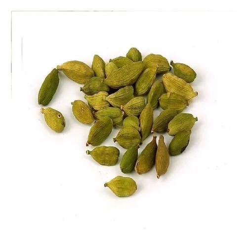 Imagen 1 de 4 de Cardamomo Verde Entero De India 1/4 Kg