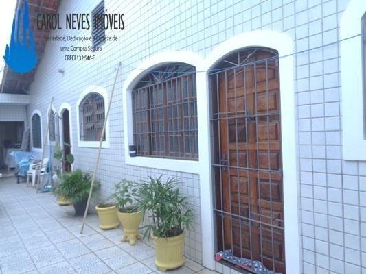 2956 -casa Em Mongaguá Com 3 Dormitórios Aproveite !!!