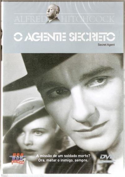 Dvd O Agente Secreto - Alfred Hitchcock - Novo***