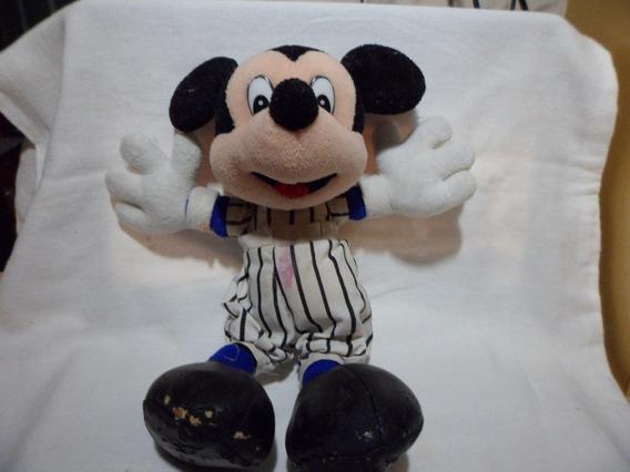 Pelucia Do Mickey Da Disney Usada 28 Cm