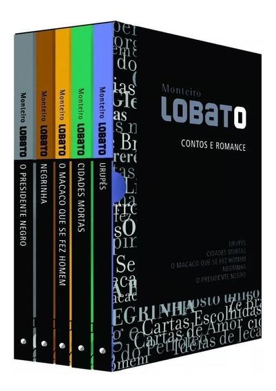 Coleção Monteiro Lobato Contos E Romances + Frete Grátis