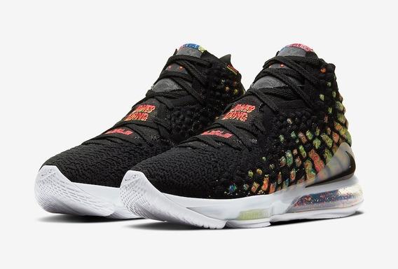 Tênis Nike Lebron Xvii 17 Gang James Tam 42/43/44 Envio Já!