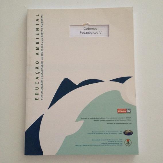 Livro Educação Gestão Ambiental Cadernos Pedagógicos 4 C2
