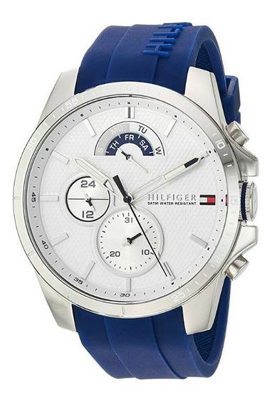Reloj Tommy Hilfiger M. 1791349 Cuarzo Silicona Hombre / J