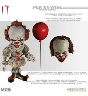 Mezco Designer Series Deluxe It Pennywise