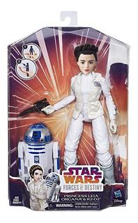 Star Wars Force Of Destiny Princesa Leia Organa Y R2-d2 Adve