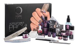 Prokit Completo Aplicación Uñas Organic Nails + Capacitación
