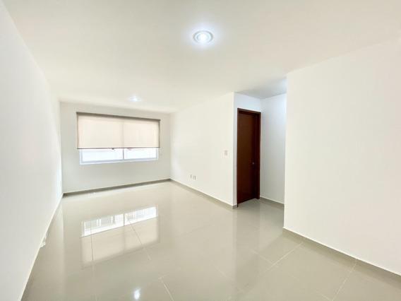 Departamento 203. Interior. 65m2. 2 Recámaras. Roof Garden Común.del Valle Norte