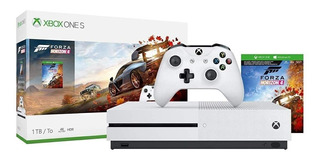 Microsoft Xbox One S 1TB Forza Horizon 4 Bundle blanco