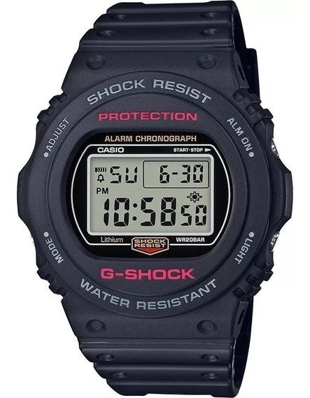 Relógio Casio Masculino G-shock Digital Preto Dw-5750e-1dr