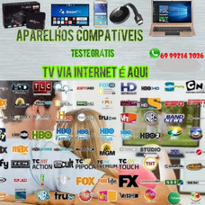 Canais De Tv Via Internet