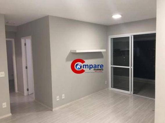 Apartamento Com 2 Dormitórios Para Alugar, 68 M² Por R$ 1.500,00/mês - Picanco - Guarulhos/sp - Ap6790