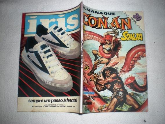 Almanaque Conan O Bárbaro 3 - Abril - Frete Grátis