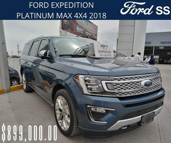Ford Expedition Platinum Max 4x4 Modelo 2018