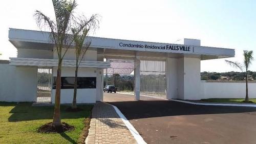 Imagem 1 de 11 de Terreno À Venda, 381 M² Por R$ 250.000,00 - Condominio Residencial Falls Ville - Foz Do Iguaçu/pr - Te0459