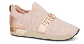 Sneaker Slip On Mujer Rosa 2626284 Andrea