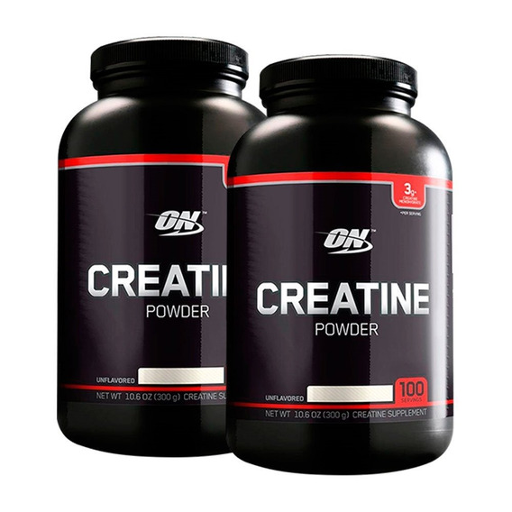Creatina Black 300gr Optimum Nutrition X 2 Unidades
