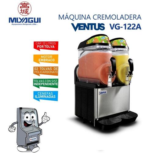 Cremoladera Vg-122a Nueva Granizadora Cremoladas Granizados