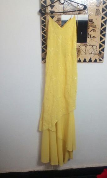 Vestido De Fiesta Impecable!!! Color De Última Moda