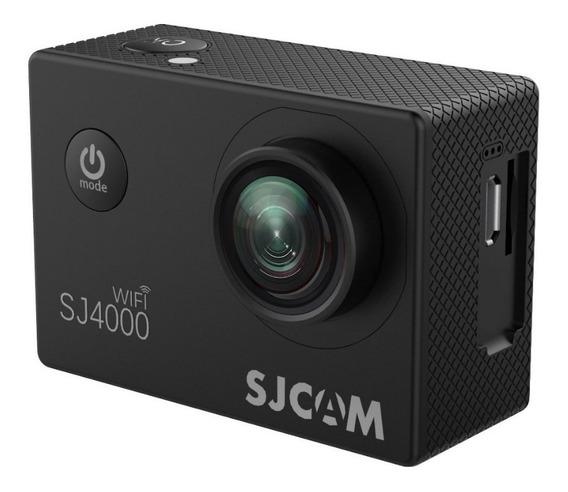 Sjcam 4000 Wifi + Boia+ Basta Selfie Agua + Carr E Bateria