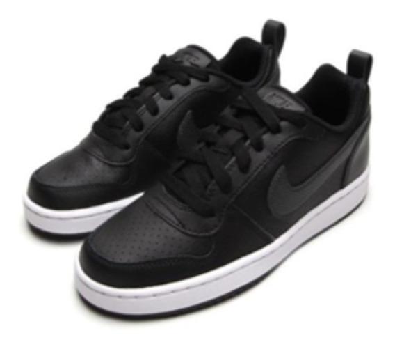 Tênis Couro Nike Menino Court Borough Low Sl (gs)