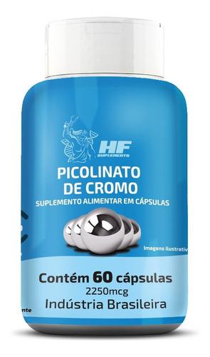 Imagem 1 de 5 de Picolinato De Cromo 2250 Mcg - Inibe Vontade De Comer Doces